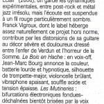 """""""Les onze tableaux de l'escouade"""" - Jazz magazine"""
