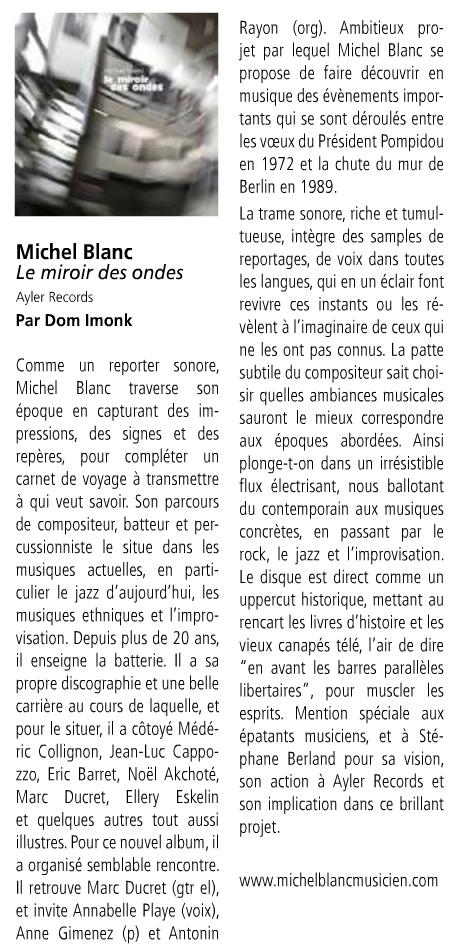 Le Miroir Des Ondes - La Gazette Bleue